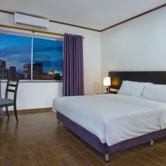 Отель Eastin Easy GTC Hanoi 3* Улучшенный номер с различными типами кроватей фото 4