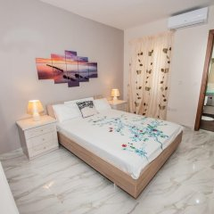 Отель The Waves holiday apartment Мальта, Марсашлокк - отзывы, цены и фото номеров - забронировать отель The Waves holiday apartment онлайн комната для гостей фото 3