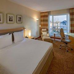Отель Hilton Munich City 4* Стандартный номер с различными типами кроватей фото 3