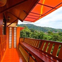 Отель Villa Siam Lanna @ Golden Pool Villas Ланта балкон