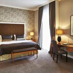 Отель Steigenberger Frankfurter Hof 5* Улучшенный номер с различными типами кроватей фото 5