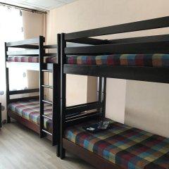 Хостел Олимпия Кровать в общем номере с двухъярусной кроватью фото 8