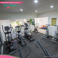 Отель Playa Suites фитнесс-зал фото 3