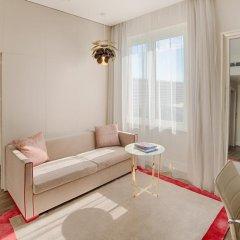 Отель NH Collection Roma Palazzo Cinquecento Улучшенный номер с различными типами кроватей фото 3