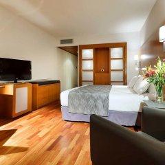 Отель Eurostars Lisboa Parque 4* Стандартный номер с различными типами кроватей фото 4