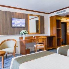 Отель Thanthip Beach Resort 3* Улучшенный номер с различными типами кроватей фото 4