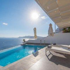 Отель Santorini Secret Suites & Spa 5* Люкс Honeymoon с различными типами кроватей фото 10
