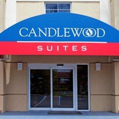 Отель Candlewood Suites Fort Lauderdale Airport-Cruise США, Форт-Лодердейл - отзывы, цены и фото номеров - забронировать отель Candlewood Suites Fort Lauderdale Airport-Cruise онлайн вид на фасад фото 2