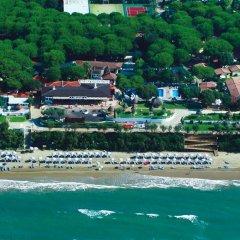 Отель Holiday Village Фонди приотельная территория