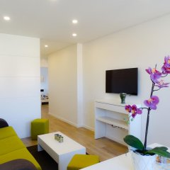 Отель RS Porto Campanha Апартаменты разные типы кроватей фото 17