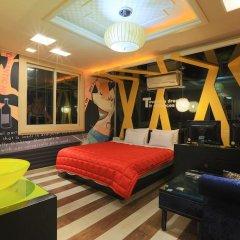 Haeundae Grimm Hotel 2* Номер Делюкс с различными типами кроватей фото 20