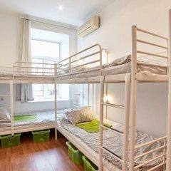 Хостел Абрикос Кровать в общем номере с двухъярусными кроватями фото 15