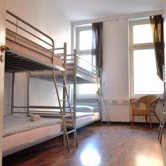 Отель Oskars Absteige Кровать в общем номере с двухъярусной кроватью фото 10
