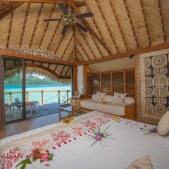 Отель Bora Bora Pearl Beach Resort and Spa Французская Полинезия, Бора-Бора - отзывы, цены и фото номеров - забронировать отель Bora Bora Pearl Beach Resort and Spa онлайн комната для гостей фото 2