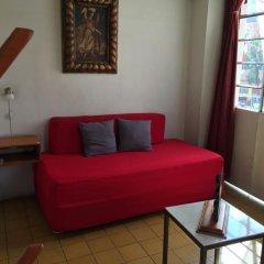 Hostel Lit Guadalajara Стандартный номер с различными типами кроватей (общая ванная комната)