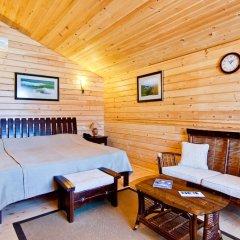 Гостиница Золотая бухта Бунгало с различными типами кроватей фото 2