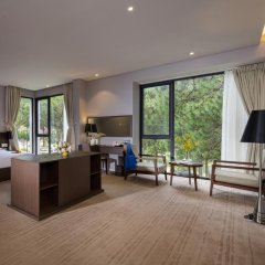 Terracotta Hotel & Resort Dalat 4* Номер Делюкс с различными типами кроватей фото 5