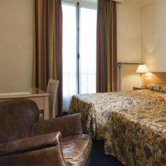 Отель Hôtel de Suez 2* Стандартный номер с различными типами кроватей фото 2