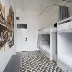Отель Cacha bed Кровать в общем номере с двухъярусной кроватью фото 8