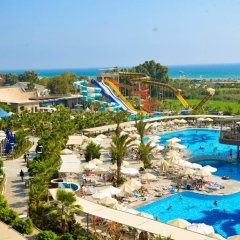 Sunmelia Beach Resort Hotel & Spa Турция, Чолакли - 3 отзыва об отеле, цены и фото номеров - забронировать отель Sunmelia Beach Resort Hotel & Spa - All Inclusive онлайн бассейн