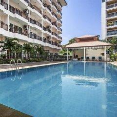 Апартаменты Pratumnak Hill Apartment 1 Bedroom Паттайя бассейн
