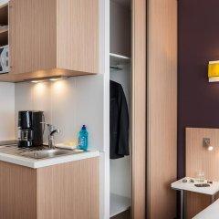 Отель Aparthotel Adagio access Paris Clichy 3* Студия с различными типами кроватей фото 5