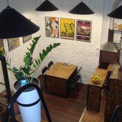 Authentic Belgrade Centre Hostel гостиничный бар