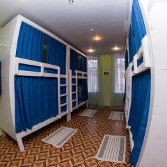 Laguna Hostel Кровать в общем номере с двухъярусной кроватью фото 19