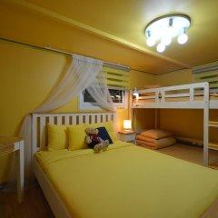 Отель Han River Guesthouse 2* Семейная студия с двуспальной кроватью фото 24