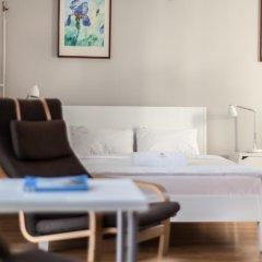 Отель Apartment4you Wilcza Студия с различными типами кроватей фото 9