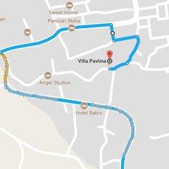 Отель Villa Pavlina Греция, Остров Санторини - отзывы, цены и фото номеров - забронировать отель Villa Pavlina онлайн городской автобус