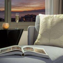Отель Royal Savoy Lausanne 5* Номер Делюкс с различными типами кроватей фото 2