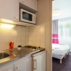 Отель Appart'City Lyon - Part-Dieu Garibaldi Студия с различными типами кроватей фото 4