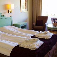 Отель Hotell Refsnes Gods 4* Улучшенный номер с различными типами кроватей фото 5