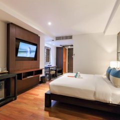 Отель Baan Laimai Beach Resort 4* Улучшенный номер двуспальная кровать фото 2