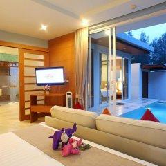 Отель APSARA Beachfront Resort and Villa 4* Улучшенный номер с различными типами кроватей фото 3