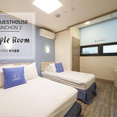 Отель K-guesthouse Sinchon 2 2* Номер Делюкс с различными типами кроватей фото 6