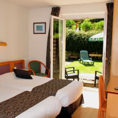 Hotel aux Bruyeres комната для гостей фото 2