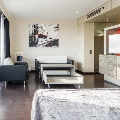 Отель ILUNION Barcelona 4* Улучшенный номер с различными типами кроватей фото 16