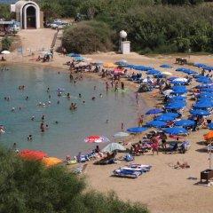 Отель Trident Beach Apartment Кипр, Протарас - отзывы, цены и фото номеров - забронировать отель Trident Beach Apartment онлайн пляж