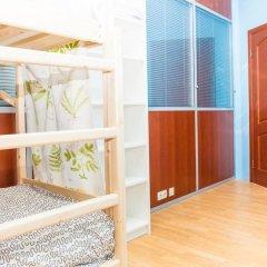 Гостиница Hostels Rus Golovinskiy Кровать в общем номере с двухъярусной кроватью фото 4