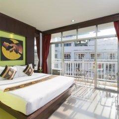 Отель Patong Buri 3* Стандартный номер с двуспальной кроватью фото 22