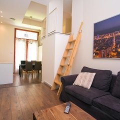 Апартаменты Barcelona Beach Apartments Барселона комната для гостей фото 3