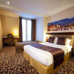 Отель Abbatial Saint Germain 3* Стандартный номер с различными типами кроватей