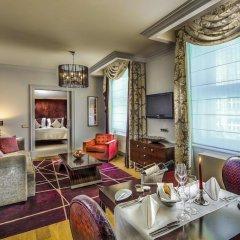 Отель The Grand Mark Prague 5* Улучшенный номер с различными типами кроватей фото 5