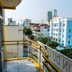 Yellow Hotel Нячанг балкон