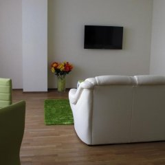 Отель Mindaugo Apartment 23A Литва, Вильнюс - отзывы, цены и фото номеров - забронировать отель Mindaugo Apartment 23A онлайн комната для гостей фото 5