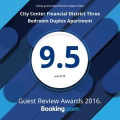 Апартаменты City Center Financial District Three Bedroom Duplex Apartment