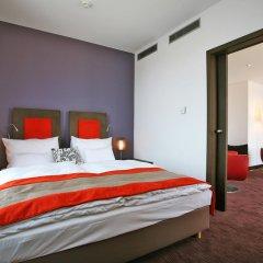 Отель Vienna House Andel's Cracow 4* Стандартный номер с различными типами кроватей фото 5