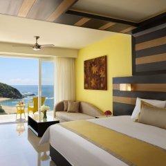 Отель Secrets Huatulco Resort & Spa 4* Полулюкс с различными типами кроватей фото 5